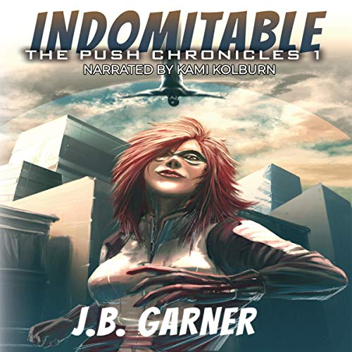 Indomitable audiobook cover art