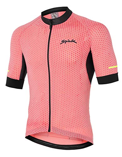 Spiuk Helios Maillot M C, Hombres, Coral, T. XL