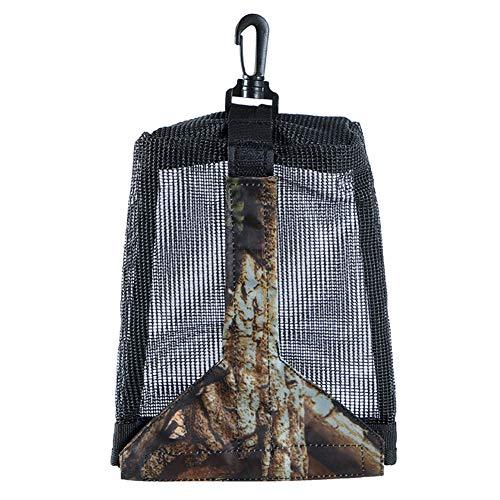 INFILM Mesh Tauchgewicht-Tasche, Tauchgewicht, Netztasche mit Schnappverschluss (15 x 21 cm)