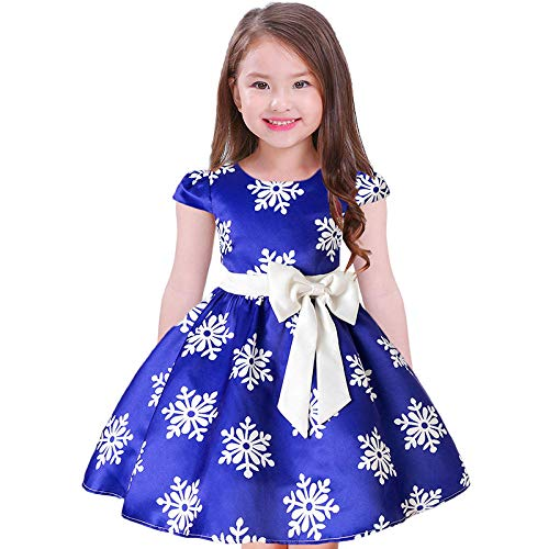 WNTYF Princesse Belle Robe Filles Halloween Cosplay Fancy Dress up Robe Carnaval