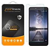 (2 Pack) Supershieldz Designed for ZTE Zmax Pro Tempered Glass Screen Protector, Anti Scratch, Bubble Free
