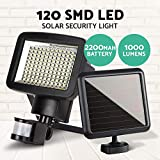 120LED Solar Sensor Light Security Motion Garden Lights Torch Lamp Solar Power System