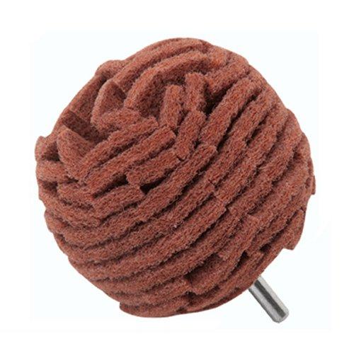 3' 75mm Abrasive Non Woven Scotch Scouring Type Sanding Polishing Abrasive Ball 40 Grit