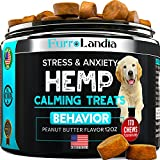 Safe & Natural Calming Support - Our soft chews will help to calm your dog so it can peacefully endure stressful situations, such as long car trips, visiting unfamiliar places, or hearing thunder Ideal For All Dog Breeds & Sizes - Whether it is a tea...