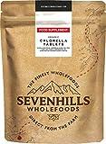 Sevenhills Wholefoods Compresse Clorella, Parete Cellulare Rotto Bio 500mg x 500, 250g