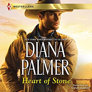 Heart of Stone     Long, Tall Texans, Book 33              Written by:                                                                                                                                 Diana Palmer                               Narrated by:                                                                                                                                 Graham Halstead                      Length: 6 hrs and 47 mins     1 rating     Overall 5.0