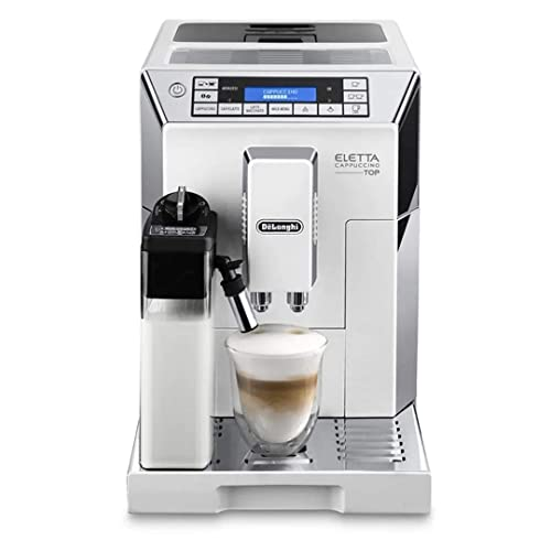 Delonghi super-automatic espresso coffee machine - with an adjustable silent ceramic grinder, double