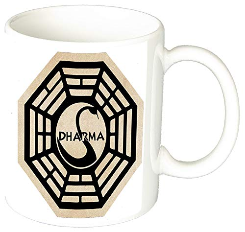 MasTazas Perdidos Lost Iniciativa Dharma Initiative A Taza Ceramica