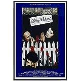 wzgsffs Blue Velvet Movie Klassisches Poster Und Drucke
