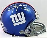 Lawrence Taylor Autographed New York Giants Mini Helmet w/HOF - Beckett W Auth White