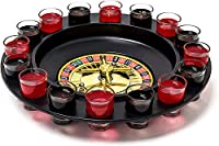 Das Casino-Glücksspiel in der feucht-fröhlichen Variante: Als Geschenkidee, für Geburtstage, den Herrentag oder einfach die Fete mit Freunden - Sorgen Sie für beste Partystimmung! Details des Roulette-Trinkspiels: Set enthält 16 Shotgläser und 2 Kuge...
