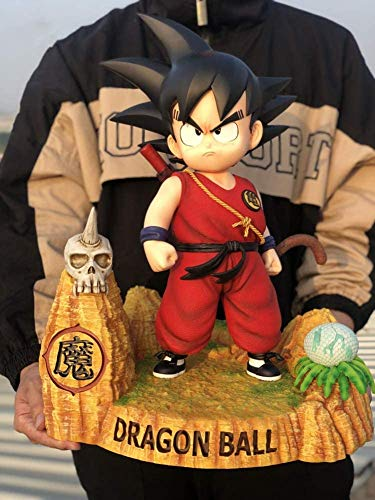 Dragon Ball 17,7 Pulgadas Figuras De Acción 1/3 Pequeño Goku Action Figure Anime Modelo...