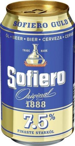 Sofiero Starköl 7,5% 24x0,33 ltr. inkl. Pfand