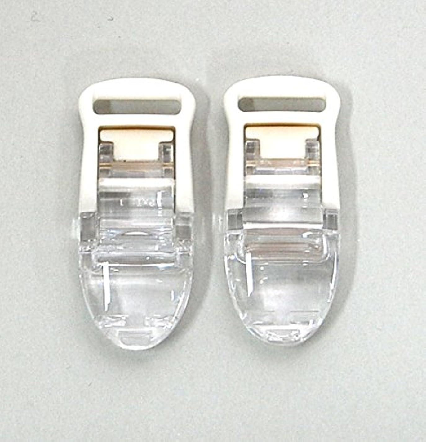 とらえどころのない薬とげMEIWA 日本製 フィッシュクリップジャンボ 2個セット クリア