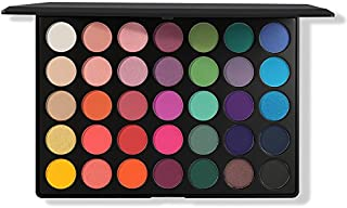 Morphe Pro 35 Color Eyeshadow Makeup Palette - GLAM (High