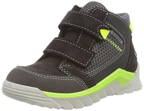 RICOSTA Jungen MARVI Hohe Sneaker, Grau (Asphalt/Grigio 495), 26 EU