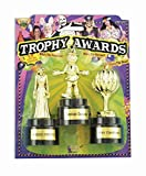 Forum Novelties Halloween Costume Trophy Awards, 3-Pack