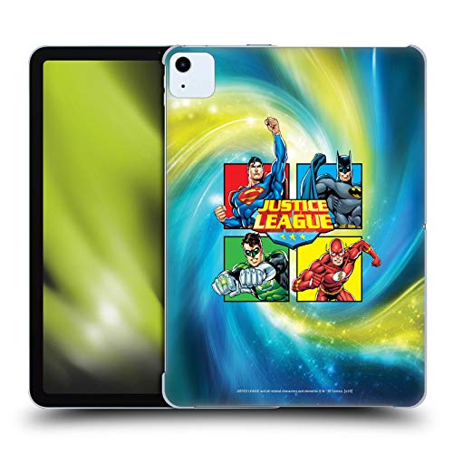 Official Justice League DC Comics Box Supreme Team Hard Back Case Compatible for Apple iPad Air (2020)