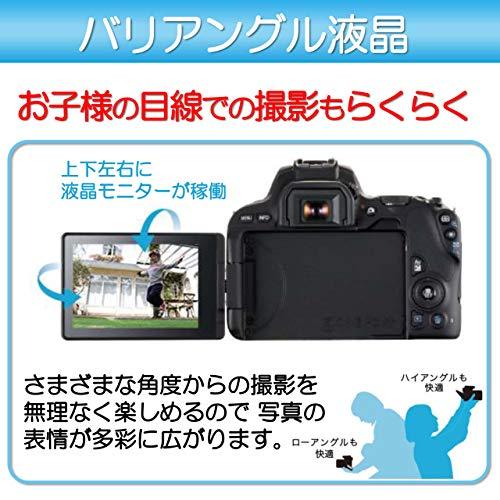 Canon デジタル一眼レフカメラ EOS Kiss X9 (W)【EF-S18-55 IS STM レンズキット】(シルバー/デジタル一眼レフカメラ)