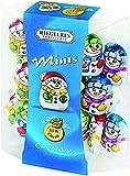 Riegelein Mini Solid Snowmen 33% Milk Chocolate Holiday Stocking Stuffer 3.5 oz