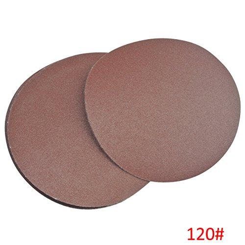 Pi/èce SBS Disques de Meulage de Velcro /ø 115 mm Grosseur de grain 240 pour Meule excentrique 8 Trous 100