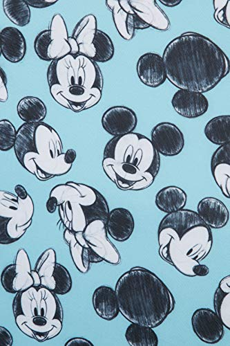 51gMCyzVK5L - Samsonite Global Travel Accessories Disney - Funda para Maleta en Lycra , M, Azul (Mickey/Minnie Blue)