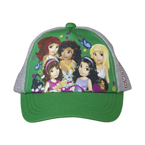 Lego Wear Mädchen Lego Friends Albertine 116 Baseball Cap, Grün (865 Jade Green), 52