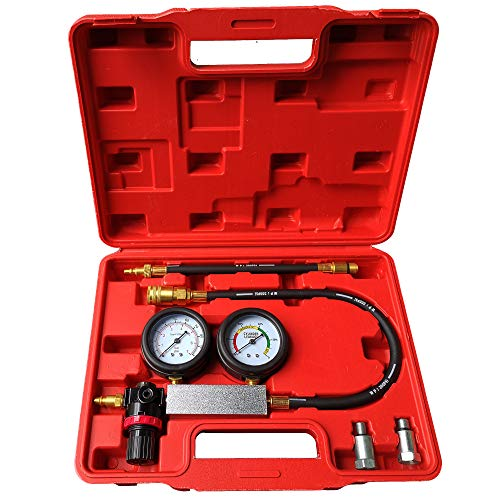 New Leak Down Tester Tu-21 Engine Cylinder Leak Tester Leakage Detector Engine Compression Tester Gauges Set