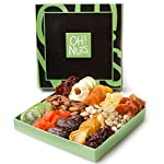Health Shopping Holiday Nut and Dried Fruit Gift Basket, Healthy Gourmet Snack Christmas Food Box,