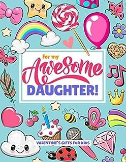 Valentines Gifts For Kids: Daughter Edition - کتابی برای طراحی و طراحی ابله!