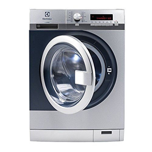 Electrolux Front Load Washer We170P Waschmaschine Freistehend Frontlader Grau 8 Kg 1400 Rpm A+++ - Waschmaschinen (Freistehend, Frontlader, Grau, Knöpfe, Drehregler, Links, Lcd)