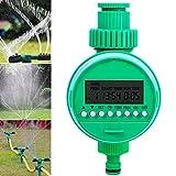 Besen, regolatore di irrigazione da giardino con timer automatico di controllo dell'irrigazione a batteria, 16 modalità, per giardini, verdura, prati e fattorie