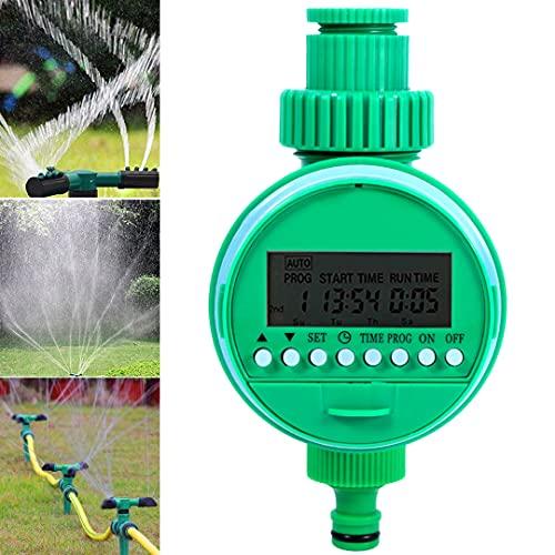 Besen, regolatore di irrigazione da giardino con timer automatico di controllo dell irrigazione a batteria, 16 modalità, per giardini, verdura, prati e fattorie