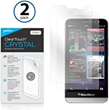 BlackBerry Z30 Screen Protector, BoxWave [ClearTouch Crystal (2-Pack)] HD Film Skin - Shields from Scratches for BlackBerr...