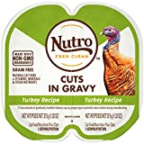 NUTRO Perfect Portions Grain Free  Natural Wet Cat Food, Cuts in Gravy, Turkey, (24) 2.6 oz....