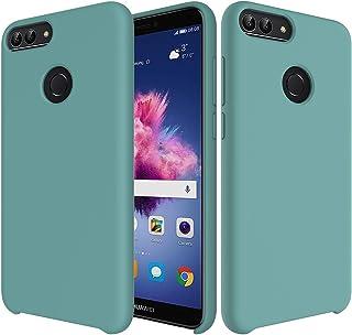 0c92454e14e CoverTpu Funda Huawei Honor 9 Lite Silicona, Verde Funda Líquido de Silicona  Gel TPU Flexible