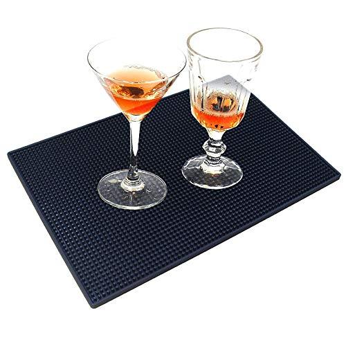 Bar Service Matte, rutschfest/verschüttete Getränke, Gummimatte für Bar, Restaurant, Arbeitsfläche (45 cm x 30 cm)