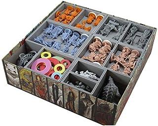 折りたたみスペースライジングサン大名ボックスと拡張ボードゲームボックスインサートオーガナイザー
