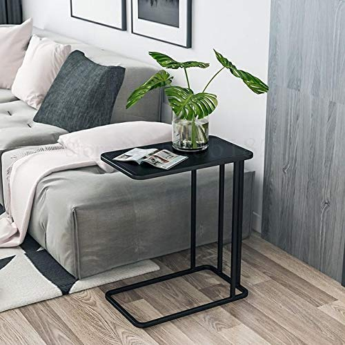 Qgg Overbed Table Side Table Coffee Table Small Apartment Nordic Marble Side Table Simple Sofa Side Cabinet Table Living Room net red Light Luxury Corner tab (Color : Boom Clap 6)
