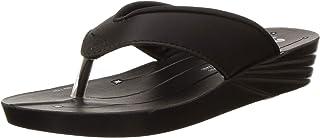 Chips Women's IF01 Black Fashion Sandals