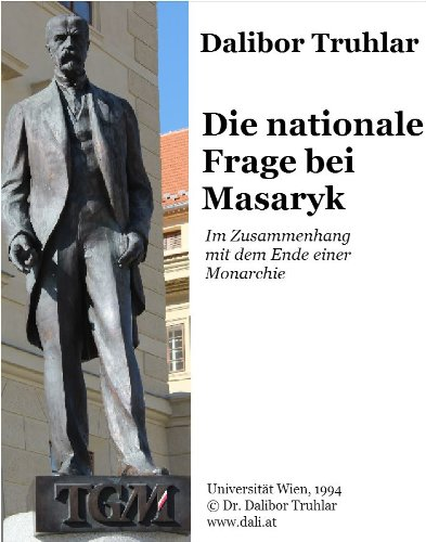 Couverture du livre Die nationale Frage bei Masaryk (German Edition)