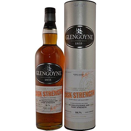 Glengoyne Cask Strength Single Highland Malt Scotch Whisky 58,9% 0,7l Flasche