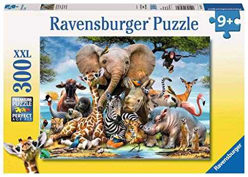 Ravensburger Italy- Rav Pzl 300 Pz. Cuccioli D'Africa 13075, Multicolore, 878442