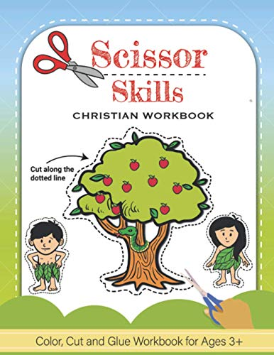 Compare Textbook Prices for Scissor Skills: Christian Color, Cut and Glue Workbook and Activity Book For Kids  ISBN 9798712477531 by Christian Coloring Club