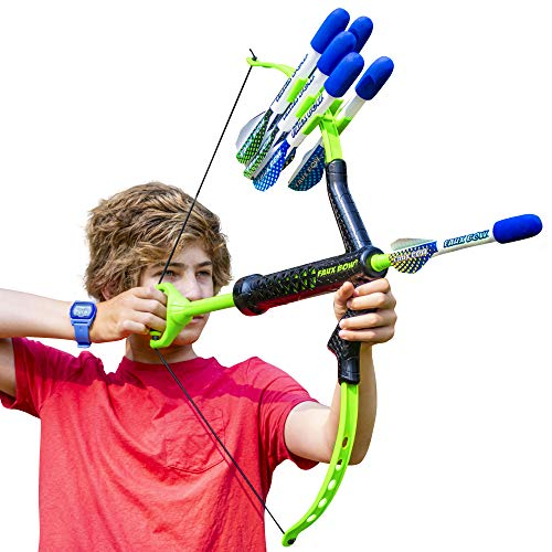 Marky Sparky Bow & Arrow - Shoots Over 100 Feet - Foam Bow & Arrow Archery Set (Lizardite)