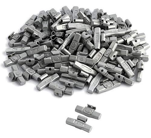 DWT-Germany 100711 100 Stück 15g Schlaggewichte Auswuchtgewichte Wuchtgewichte Für Stahlfelgen Aus Stahl Verzinkt