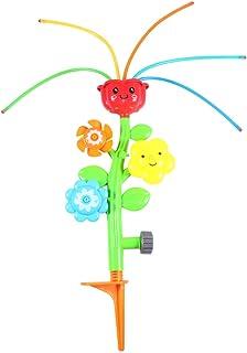 CLISPEED Baby Bath Toys Spray Water Toy Bath Squirters Bathtub Toys for Kids Bathroom Spray Bath Toy (Flower Design)