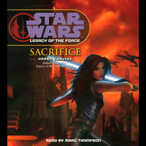 Star Wars: Legacy of the Force #5: Sacrifice cover art