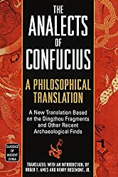 The Analects - Confucius Book Cover
