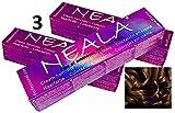 Pack 3 Tintes Profesionales SIN AMONIACO y libre de PPD- 5.07- Castaño Claro miel - NEALA 3x100ml.